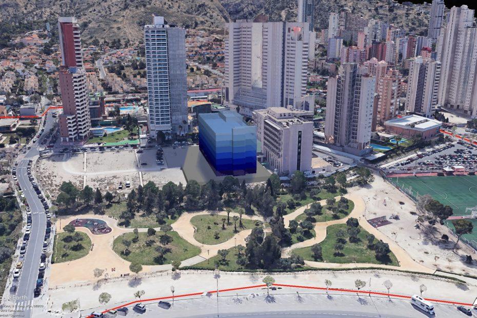 Transformación de espacios urbanos en dotacional sanitario